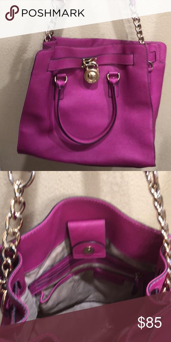 Fuschia Michael Kors Handbag With