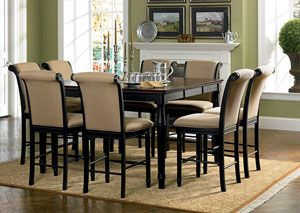 Terrific Counter Height Table W 6 24In H Bar Stool Category Dining Cjindustries Chair Design For Home Cjindustriesco