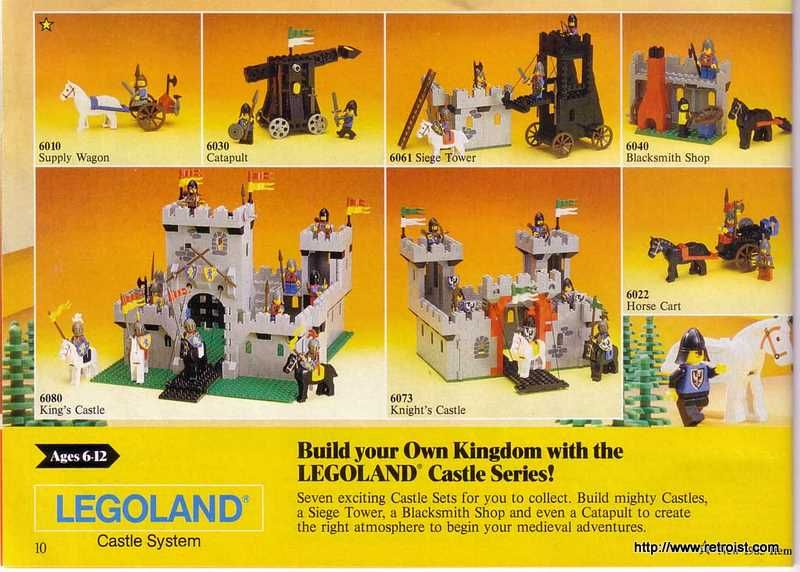 Castle Legos 80s Vintage I Used To Be From The Future Vintage