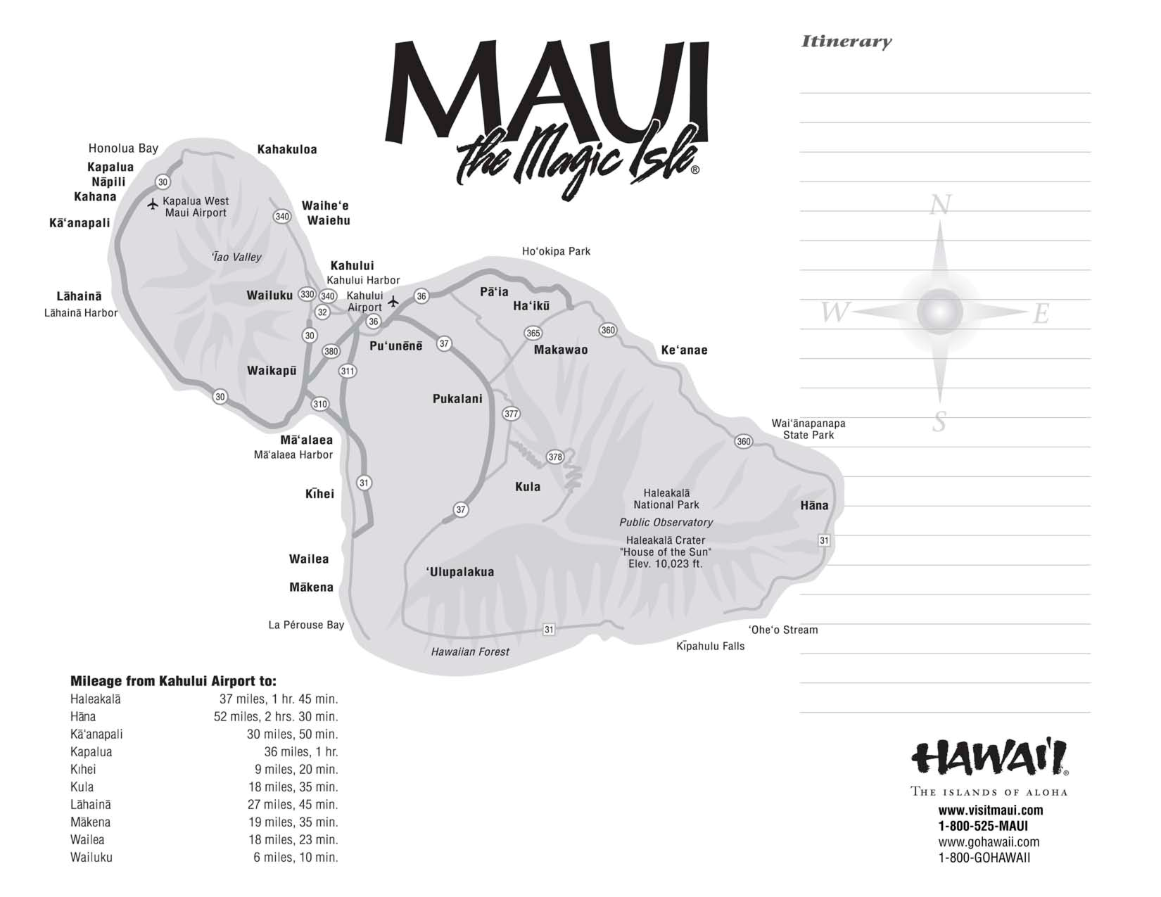 Maui maps printable scope of work template mileage hawaii maui maps printable scope of work template mileage thecheapjerseys Choice Image