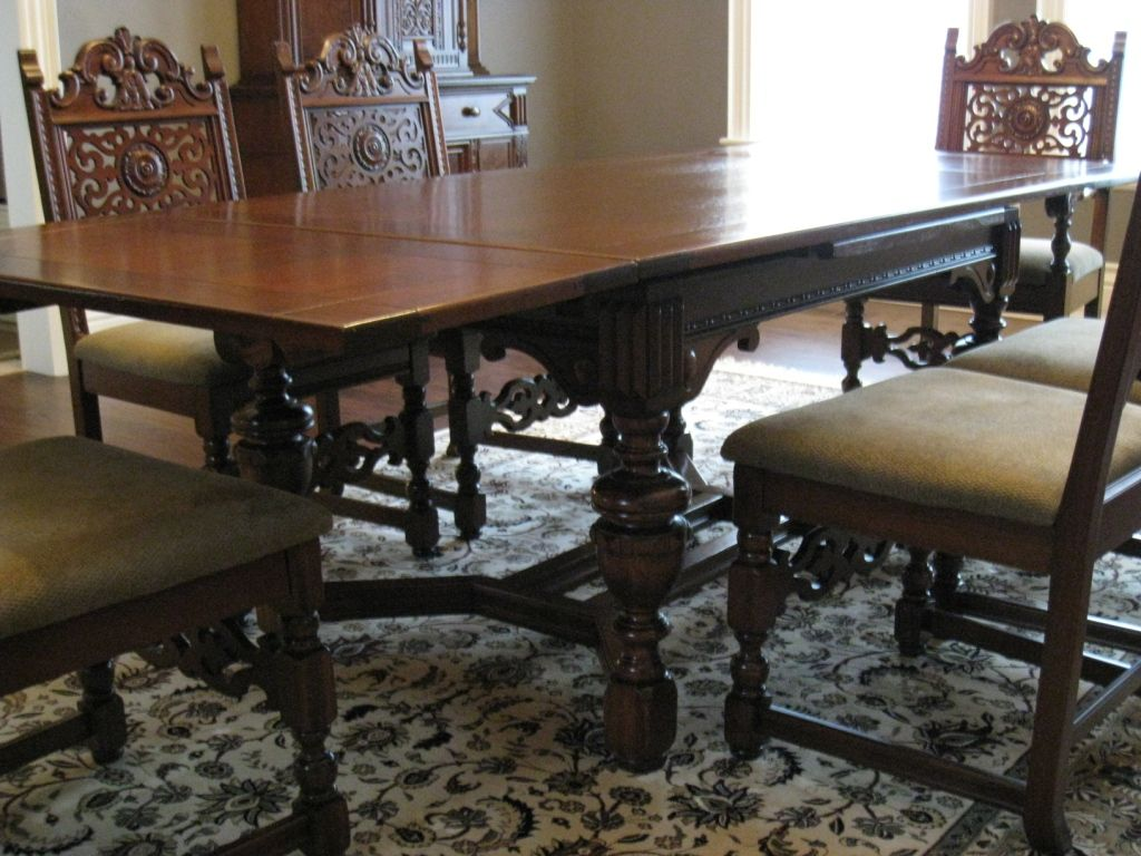Antique Dining Room Furniture 1930