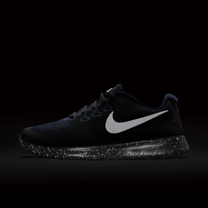 on sale 30a77 0d58c Nike Free RN 2017 Shield Women's Running Shoe - Black | Products ...