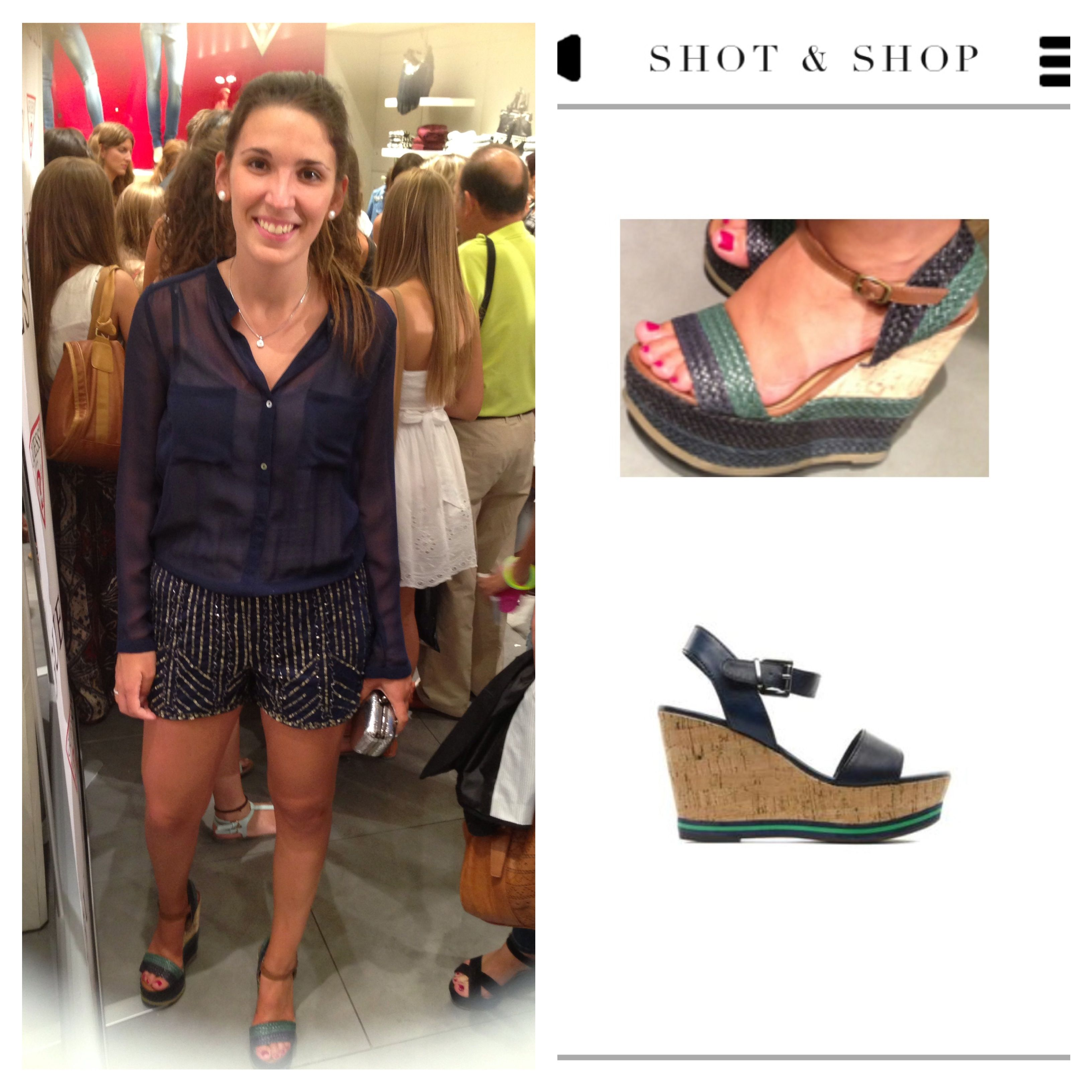 Similar wedges found with SNS in #VFNO #streetstyle Get the app: https://itunes.apple.com/es/app/shot-shop/id698170589?mt=8