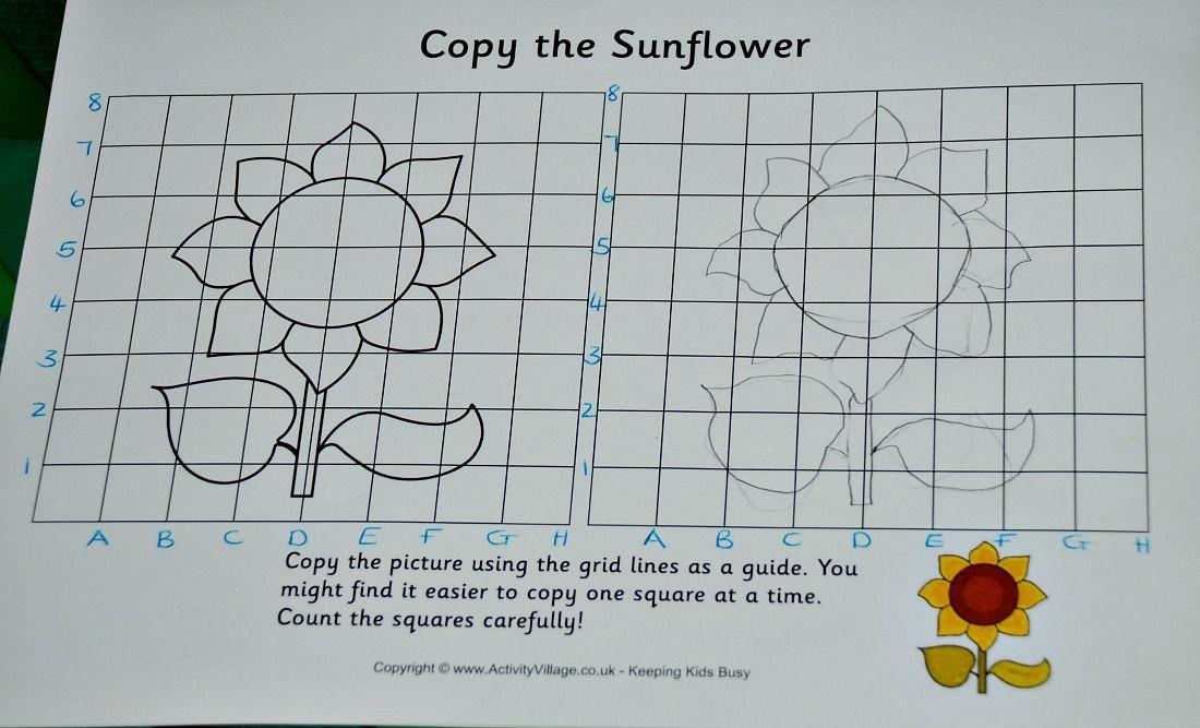 Co-ordinate Grid Copy Pictures | Activity Village Activities ...