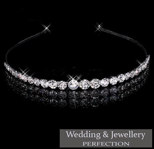 Wedding Headband Bridal Tiara Crystal Diamante Rhinestone Bridesmaid Party Prom