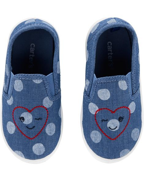 2edbfb5cab2a Toddler Girl Carter's Polka Dot Casual Sneakers from Carters.com. Shop  clothing & accessories from a trusted name in kids, toddlers, and baby  clothes.
