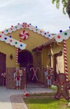 Outdoor Christmas Decor Christmas Yard Decorations Outdoor Christmas Decorations Gingerbread Decorations