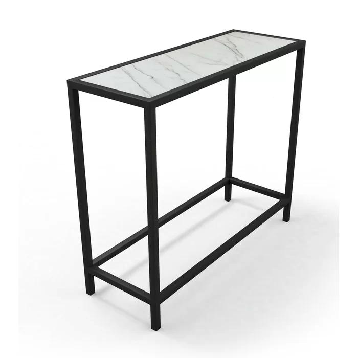 Ivy Bronx Dawson 33 Console Table Wayfair Modern Console Tables Console Table Marble Console Table