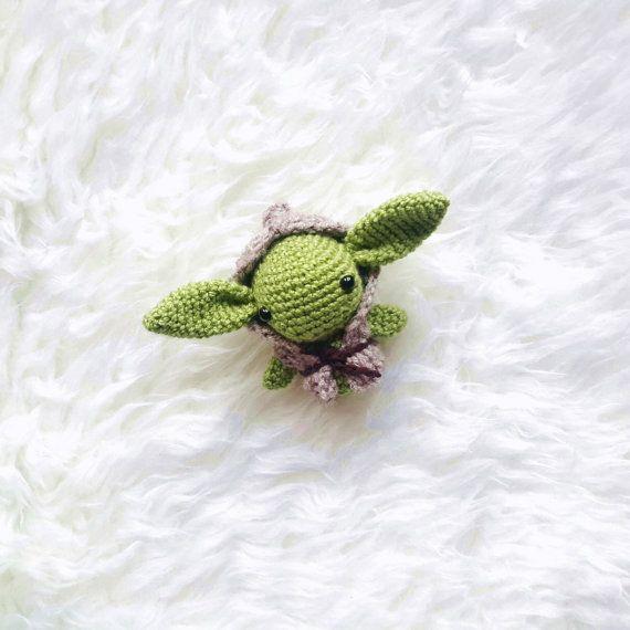 Amigurumi PATTERN -Master Yoda Star Wars - Crochet Star Wars Pattern ...