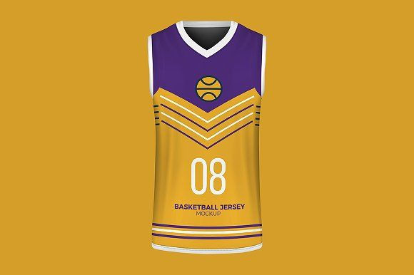 Download Basketball Jersey Mockup By Eduardo Justino On Creativemarket