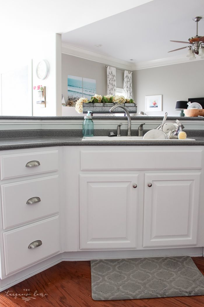 Install New Cabinet Pulls The Easy Way Kitchen Cabinet Pulls