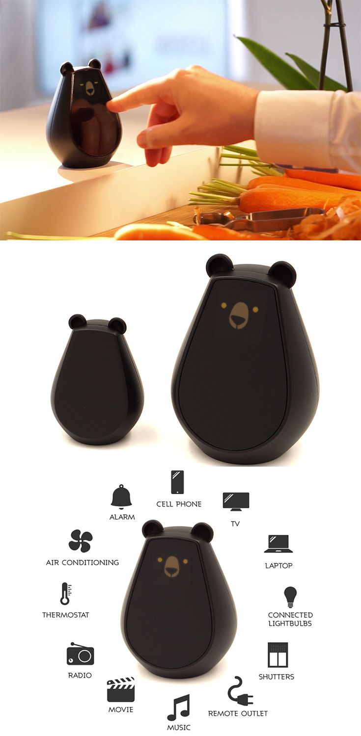 U0027Bearbotu0027 Is An Emotive Universal Remote That Makes Home Automation Easy,  It Can