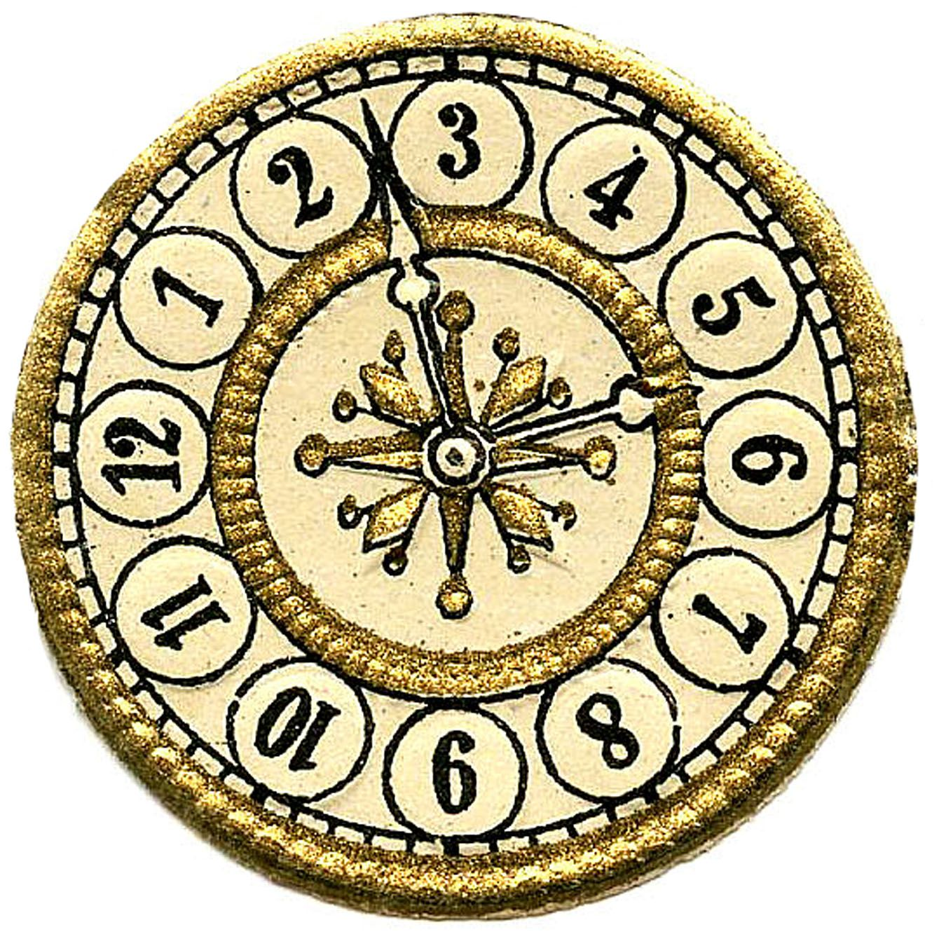 11 Clock Face Images - Print Your Own! | Victorian clocks ...