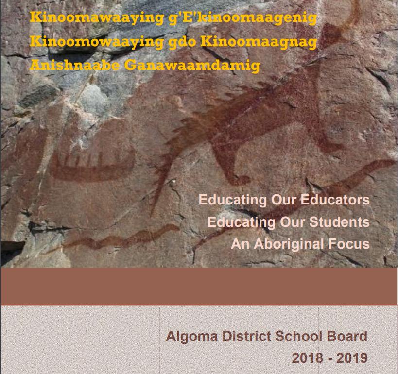 Algoma District S Teacher Guide Re Indigenous Education Indigenous Education Teacher Guides Education
