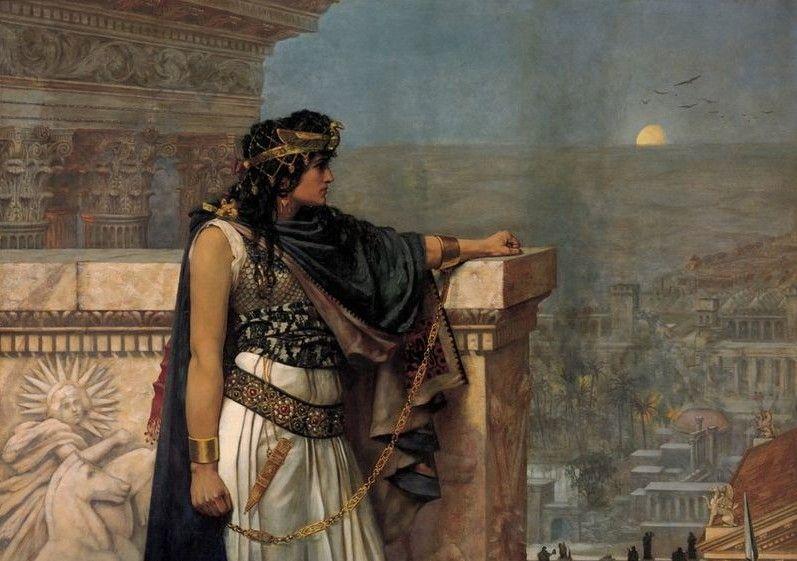 Zenobia fue nombrada en el año 267 regente del reino de Palmira, una ciudad semi-independiente situada en territorio romano contra el que luchó con valentía