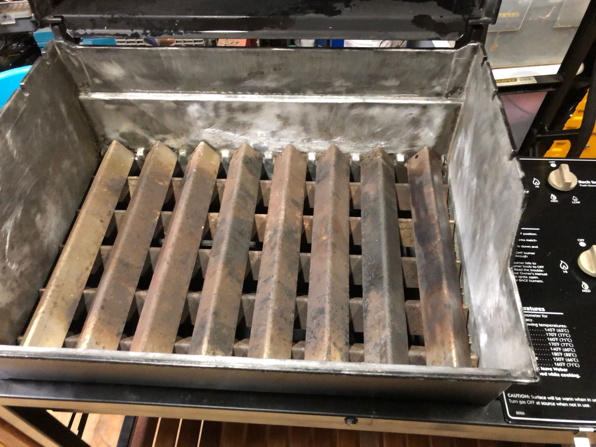 Weber Flavorizer Bars Almost New Stainless Flavorizer Bars I Will Replace If I Decide