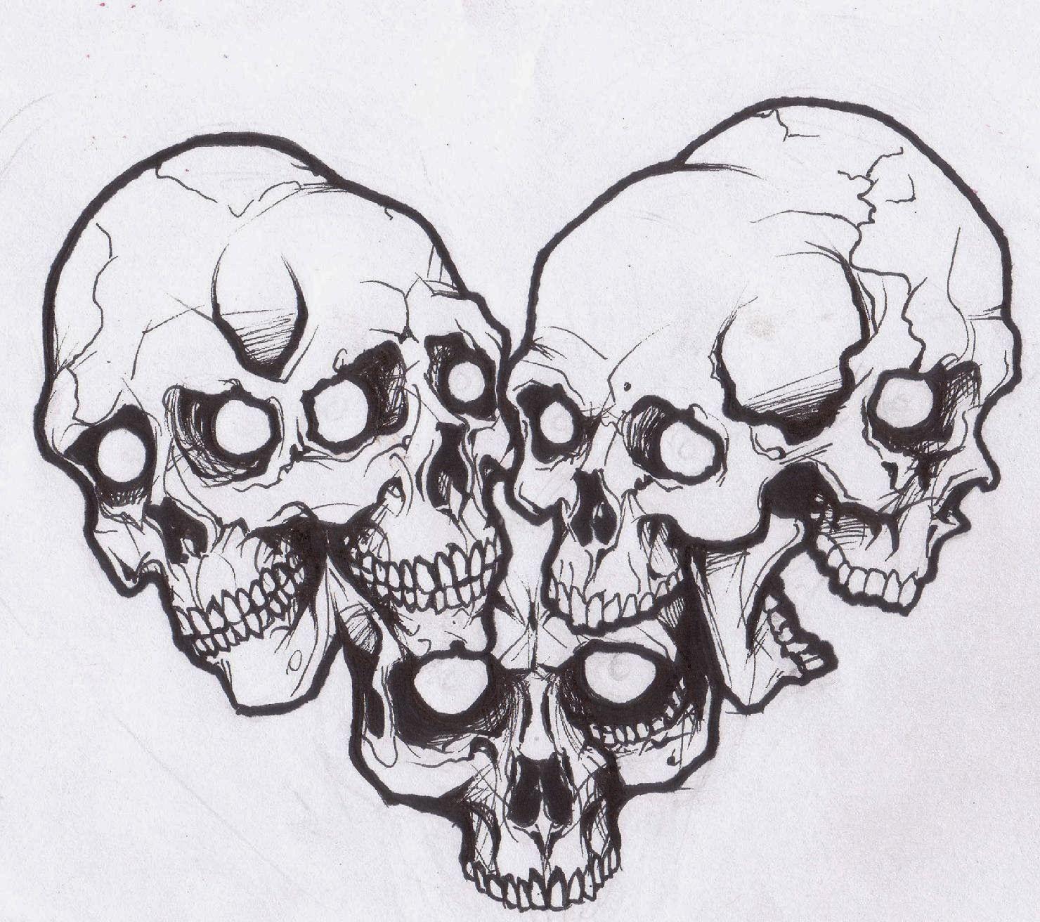 Tattoos Book Free Printable Tattoo Stencils Skulls Skull Drawing Tattoo Outline Skull Tattoo