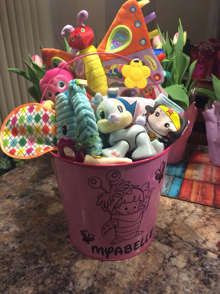 Easter basket for babies and toddlers