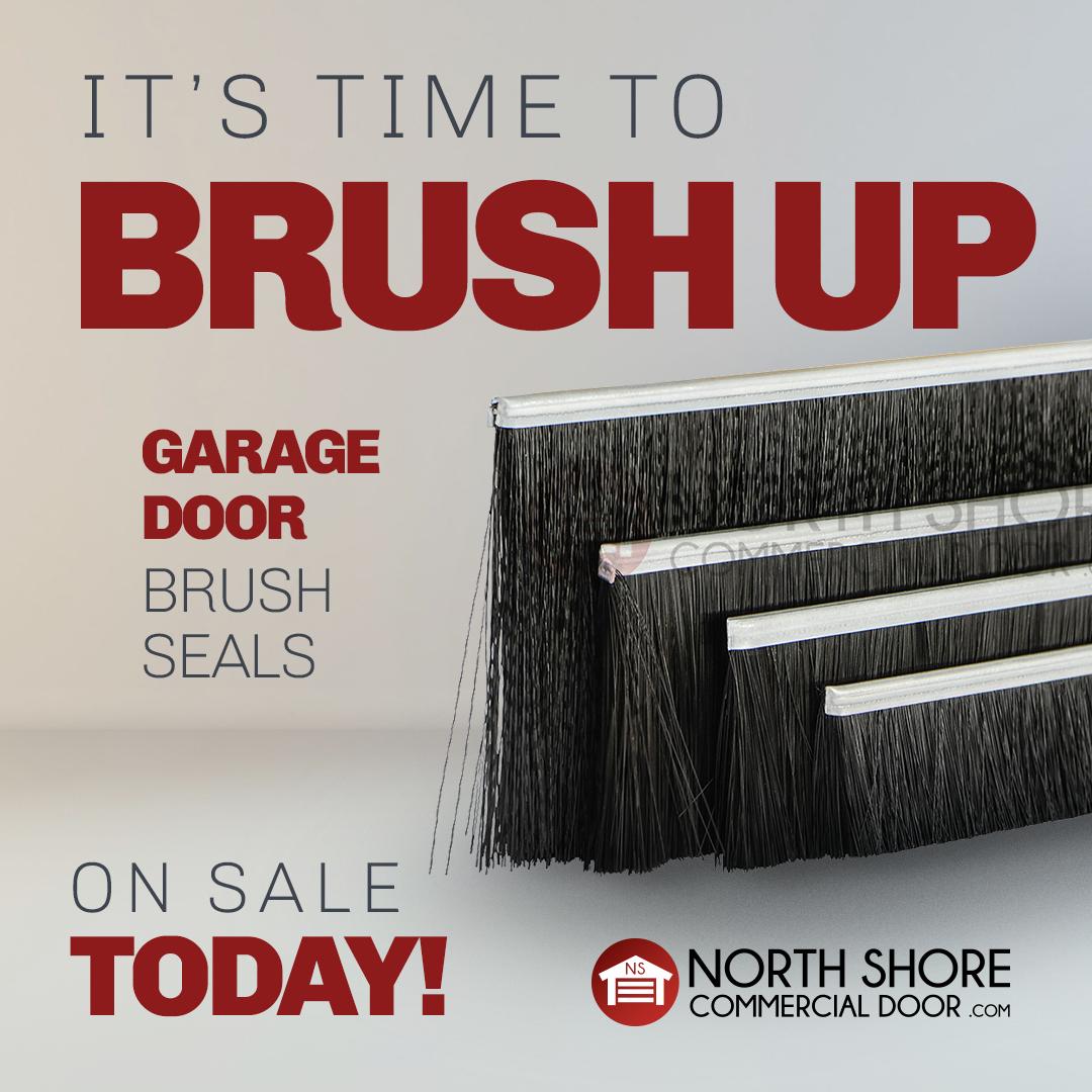 Standard Garage Door Brush Seal 1 3 Inches B07 Brush 4ft Lengths Garage Doors Garage Door Seal Garage