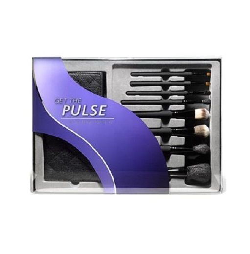 Impulse Beauty Get The Pulse 8 Piece Brush Set With Travel Case Holiday Gift #Macys