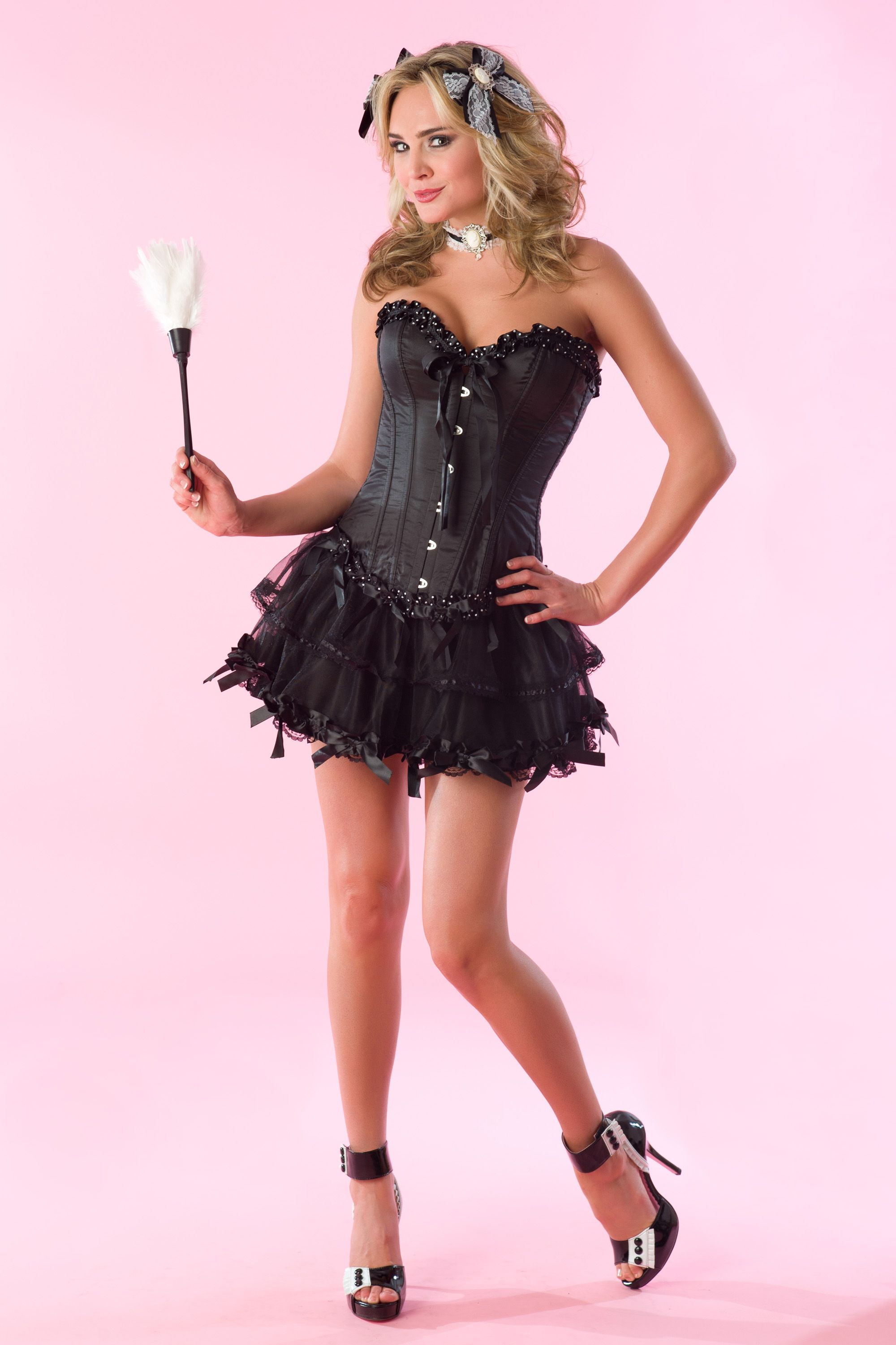 Maid with Dots Costume | Velvet Kitten only at Lingerie Diva ...