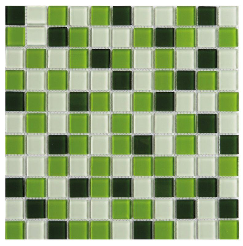 Pizzoli 1 X 1 Glass Mosaic Floor Wall Tile Mosaic Flooring Glass Mosaic Tiles Mosaic Glass