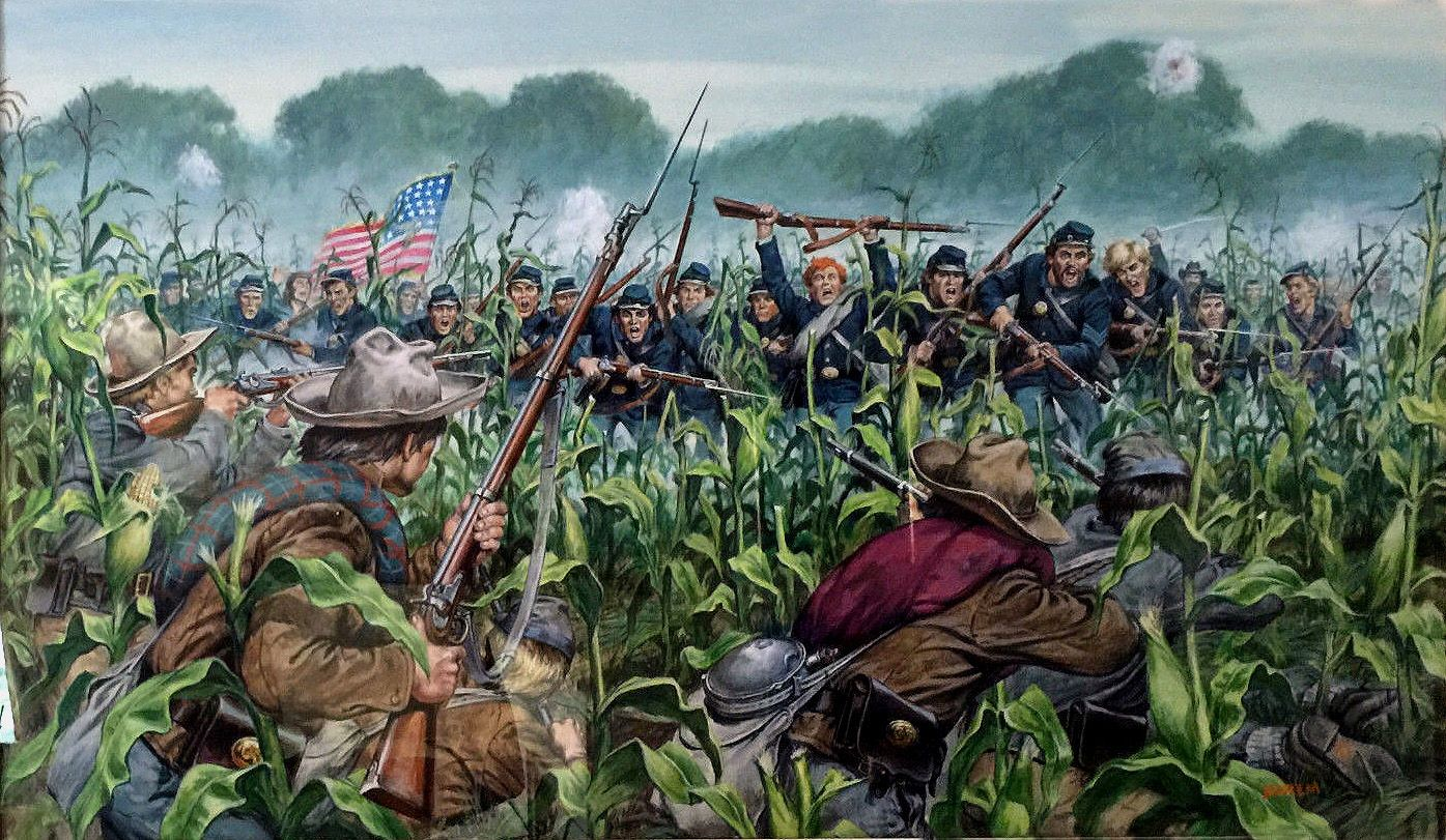 battle of antietam - HD 1395×811