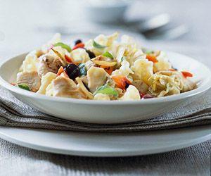 Mediterranean Chicken and Pasta