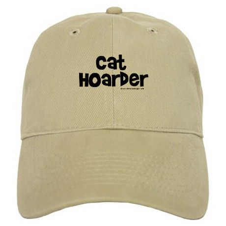 421bdbb74fb96 Cat Hoarder Baseball Cap