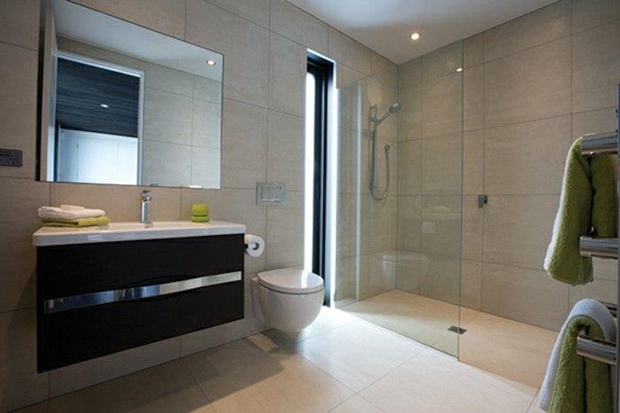 La salle de bain avec douche italienne 53 photos! | Bäder