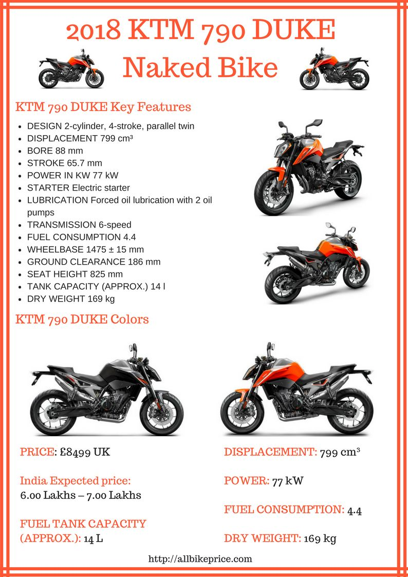 Ktm 790 Duke Price Top Speed Mileage Images Ktm Ktm Duke Duke