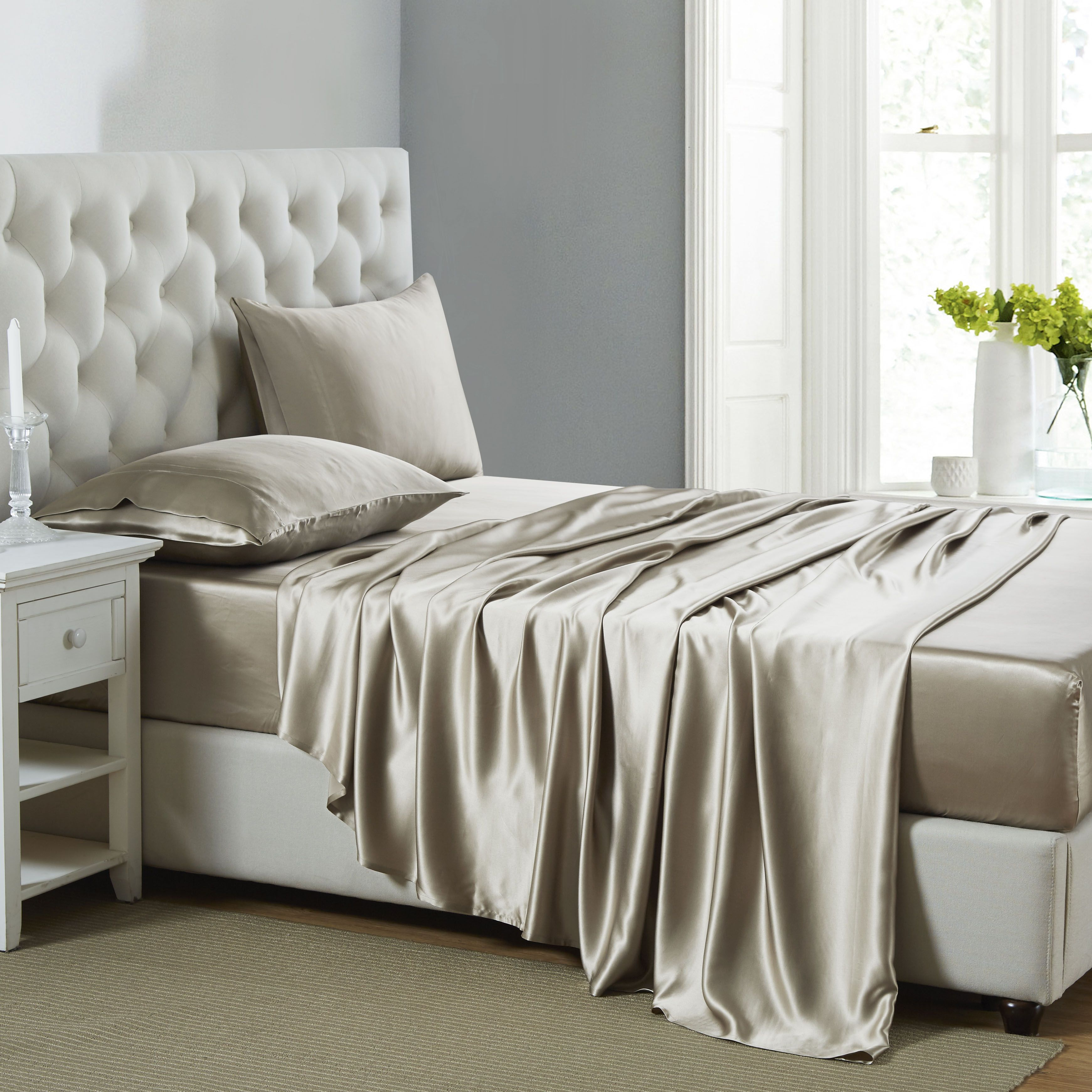 with comforter silk linen bed sets and sheets bedding of set mulberry sheet size red full style