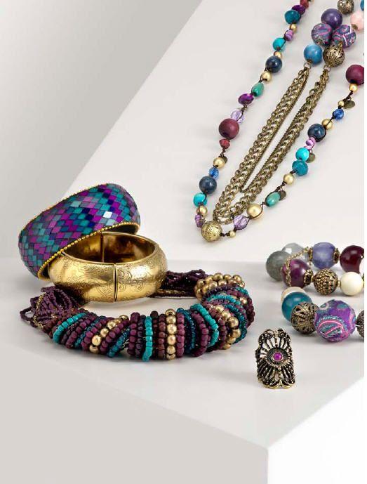 Pulseras colores Parfois colección otoño invierno 2011-2012