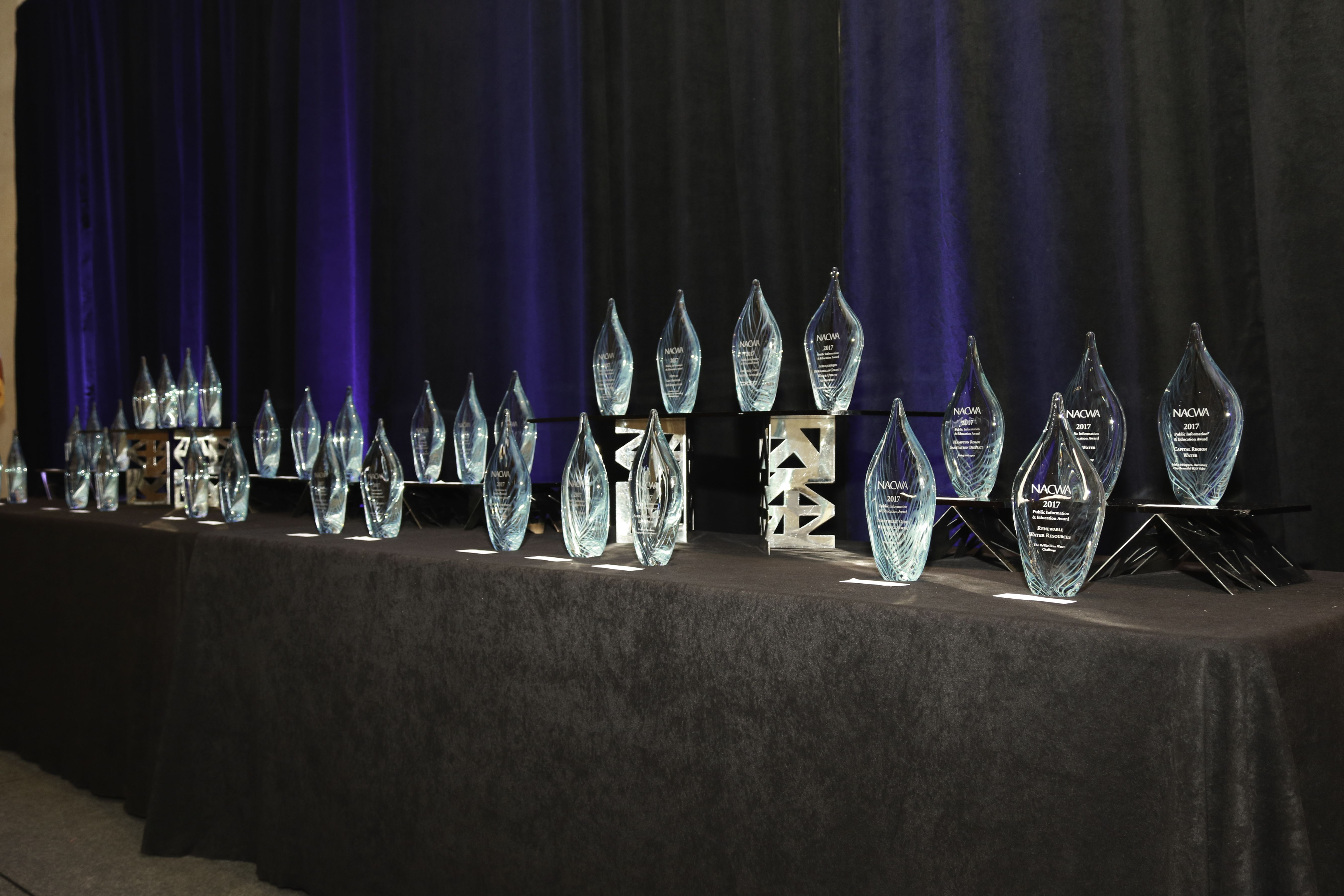 The National Environmental Achievement Awards were presented to individuals and member agencies that have made outstanding contributions to environmental protection and wastewater management.
