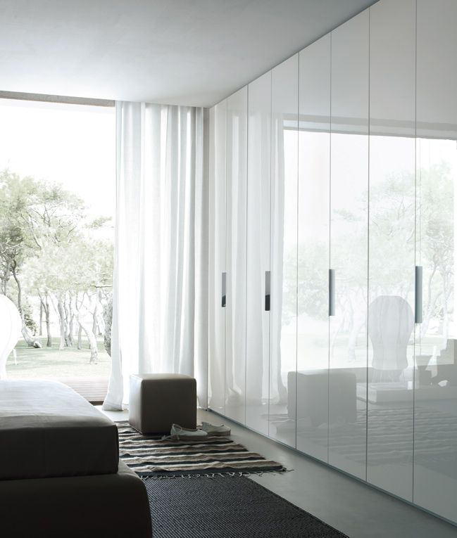 Floor To Ceiling White 2pack Built In Wardrobes