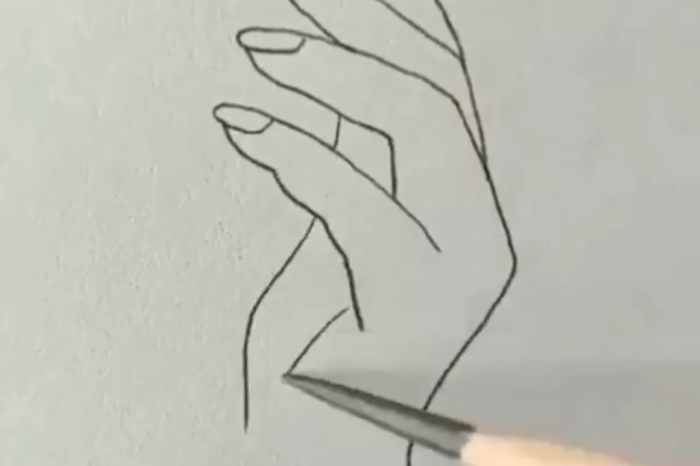 May 16 Drawing Day in 2020 How to draw hands, Hand