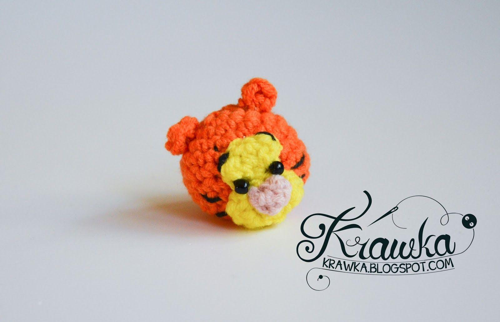 Krawka: Winnie the Pooh and friends -minis crochet free pattern ...
