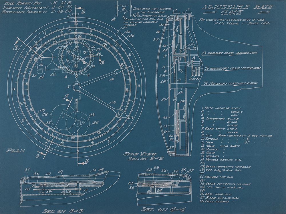 Weems second setting watch blueprint time and navigation lm weems second setting watch blueprint time and navigation malvernweather Image collections