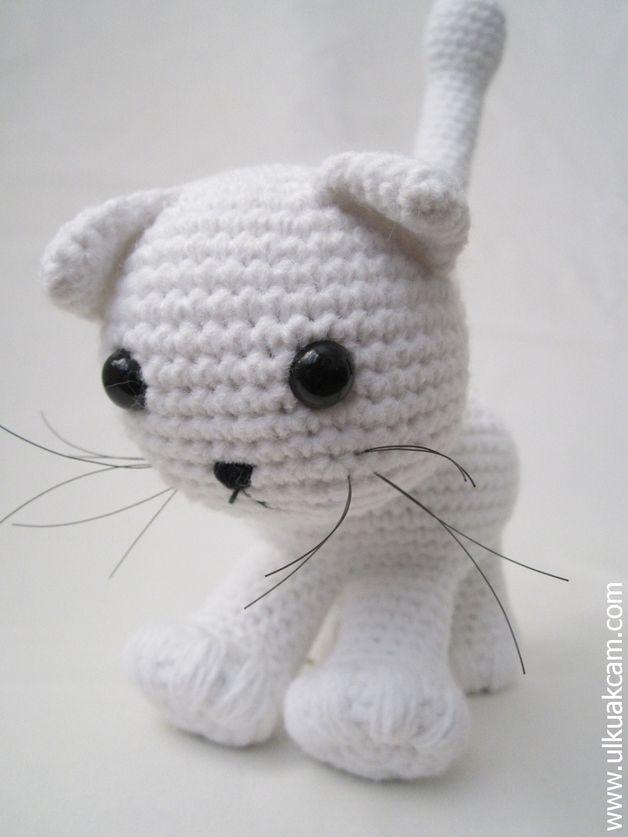 Amigurumi Katze Häkelanleitung | Crochet animals and Crochet