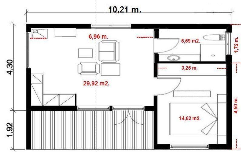 Plano de casa economica ecologica prefabricada planos de - Vajillas modernas y economicas carrefour ...