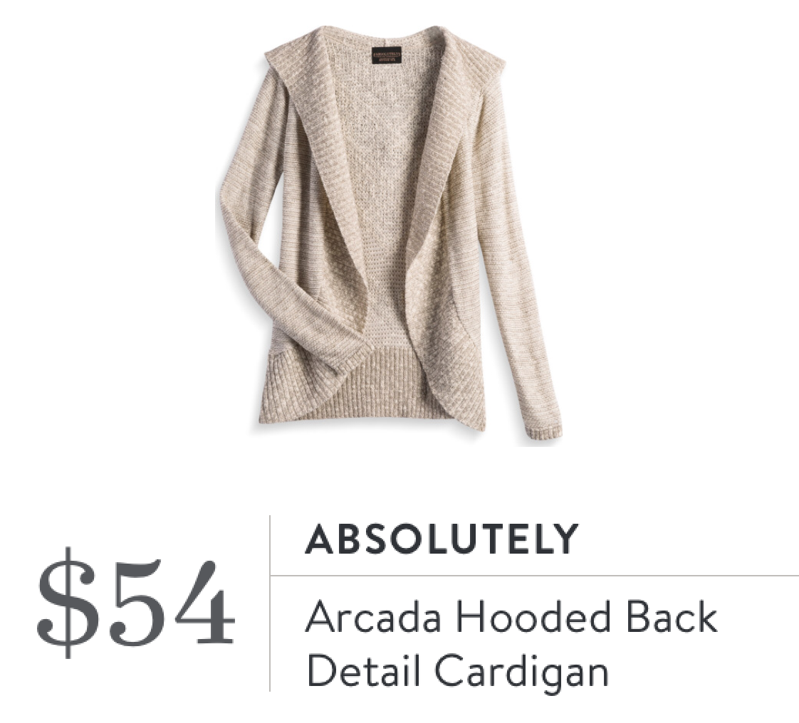 Absolutely Arcada Hooded Back Detail Cardigan Stitch Fix Outfits, Stitch  Fix Stylist, Back Details