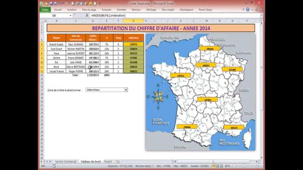 Une Carte D Anniversaire Gratuite Inspirational Realiser Une Carte De France Interactive Avec Excel