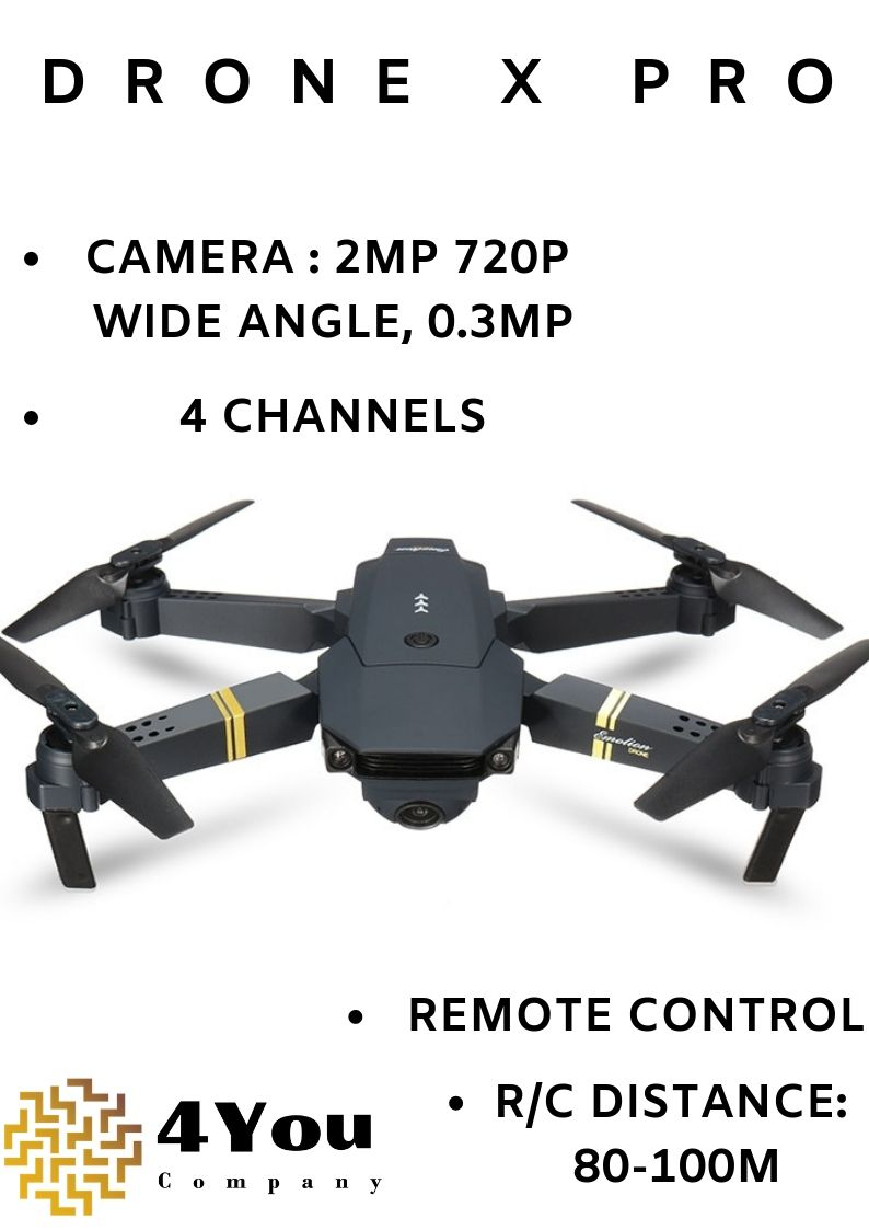 E58 Drone X Pro Foldable 2.4ghz Quadcopter Wifi 1080p Camera 4 Pcs Batteries Low Price Other Rc Model Vehicles & Kits