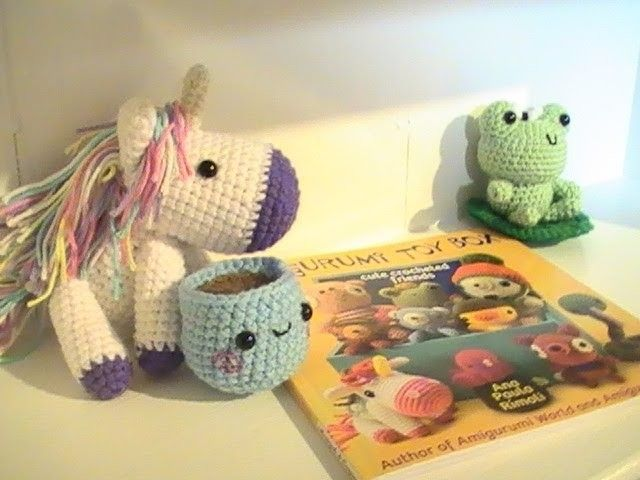 Amigurumi For Dummies Book : Book review amigurumi toy box toy boxes amigurumi and toy