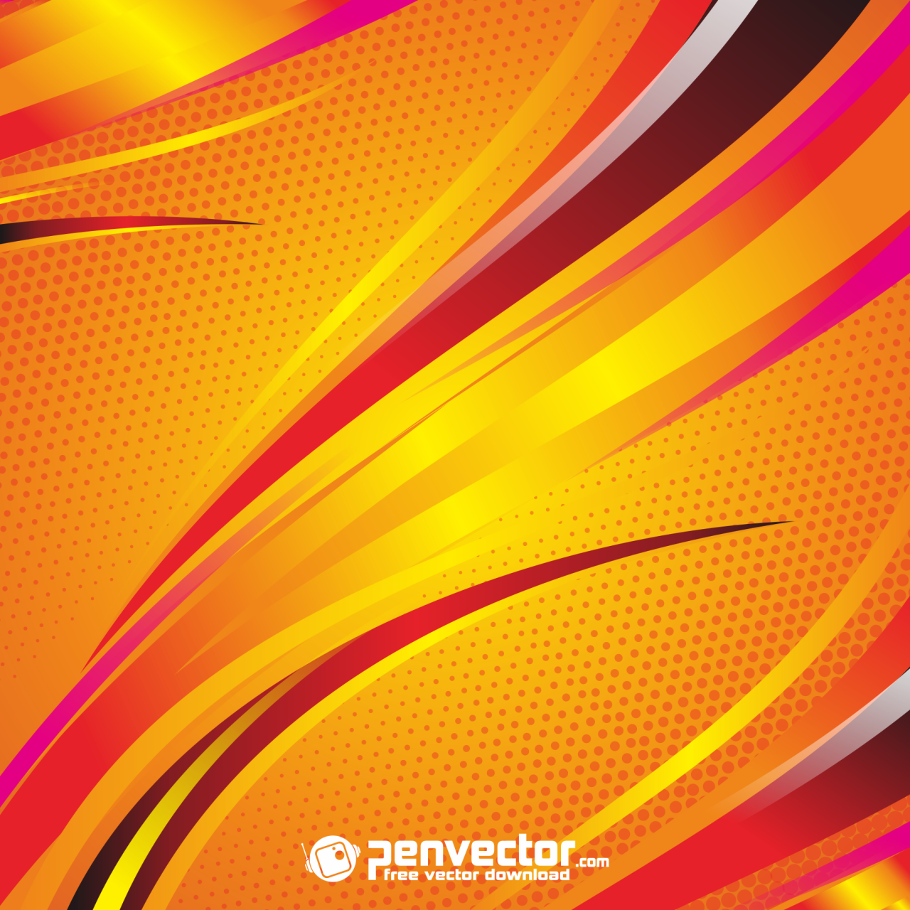 Abstract Line Orange Background Free Vector In 2021 Abstract Lines Backgrounds Free Vector Free