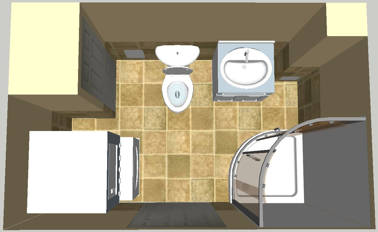bathroom laundry room combination bath laundry 3d design on small laundry room floor plans id=65218