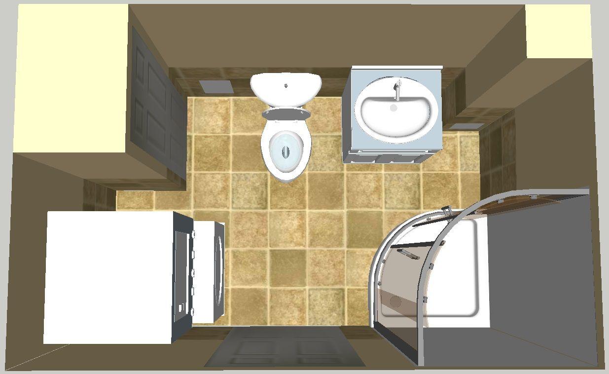 Bath Laundry 3d Design Bath