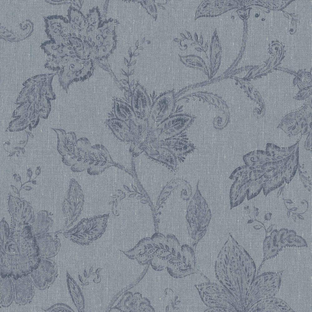 Indigo Bloom by Boråstapeter Blue Wallpaper 1926 in
