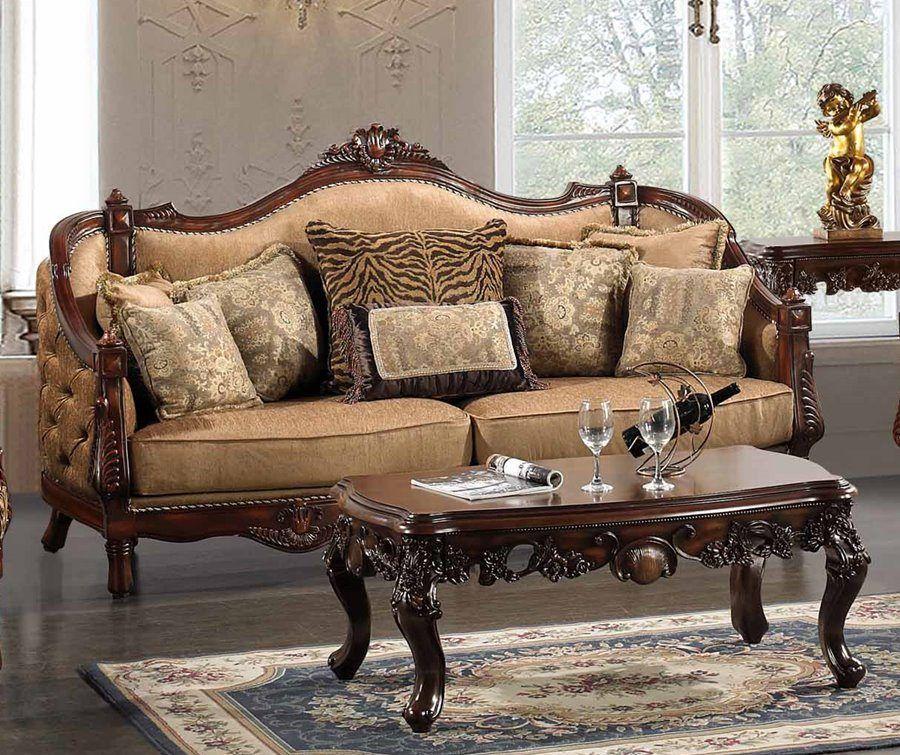 Home Furniture For Sale: Hayden Animal Print Formal Living Room Set