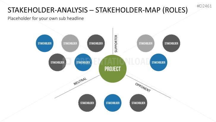 stakeholder analysis   presentationload   templates ppt, Presentation templates